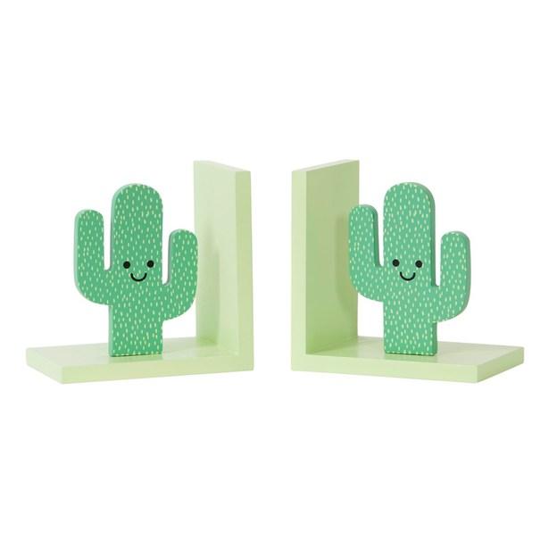 Serre-livres Cactus