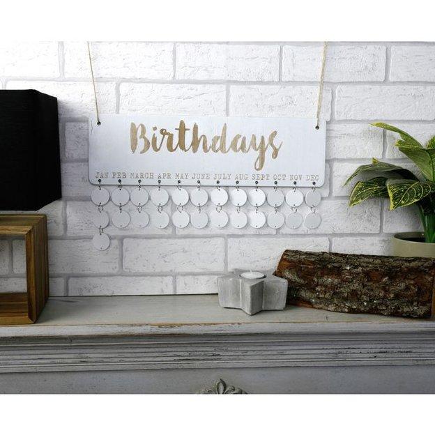 Geburtstagsplaner Shabby Chic