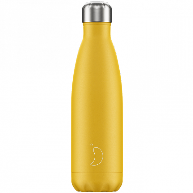 Chilly's Bottles, Trinkflasche Burnt Yellow, 500ml