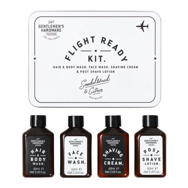 Kit de voyage soins pour homme Gentlemen's Hardware Flight Ready
