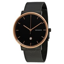 Montre Skagen Ancher Black Dial Mesh