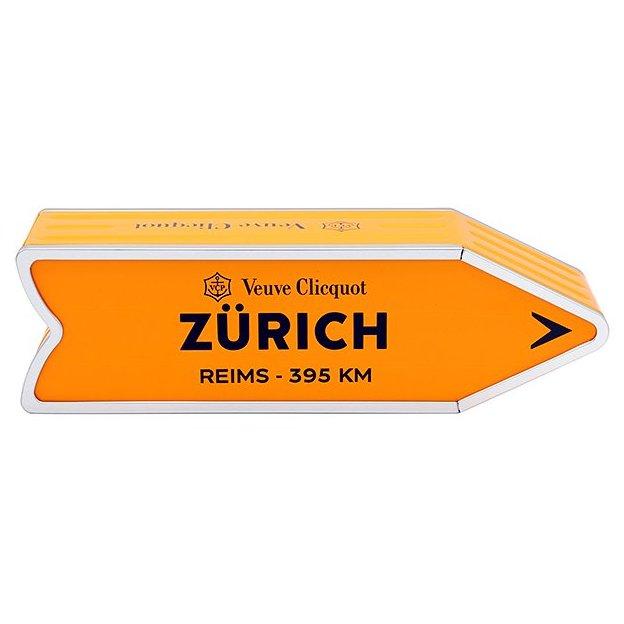 Veuve Clicquot Brut 75cl, Arrow ZÜRICH, limited edition