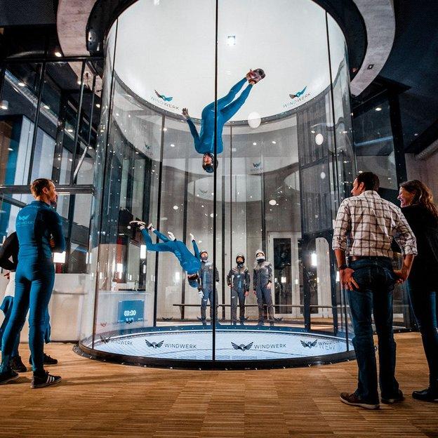 Bodyflying in Winterthur inkl. Foto und Videoaufnahmen (zwei Flüge für 1 Person)