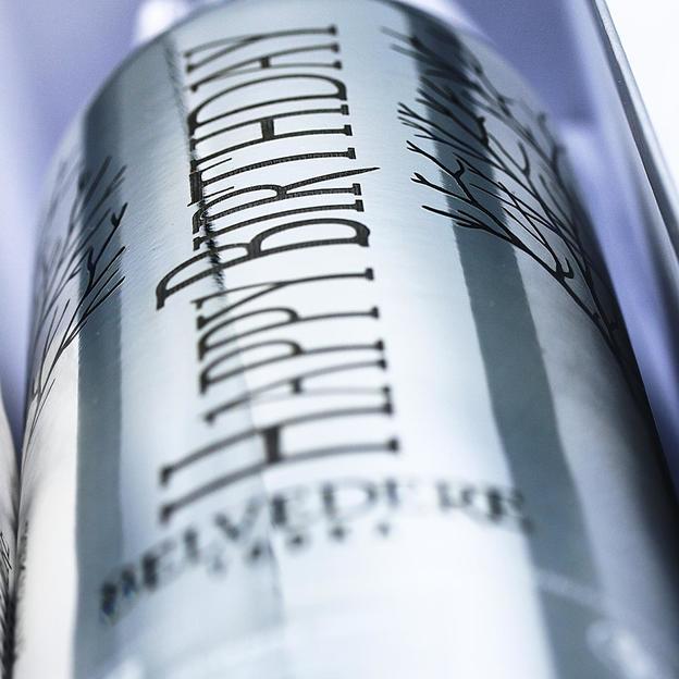 Magnum de vodka Belvedere personnalisé avec éclairage LED