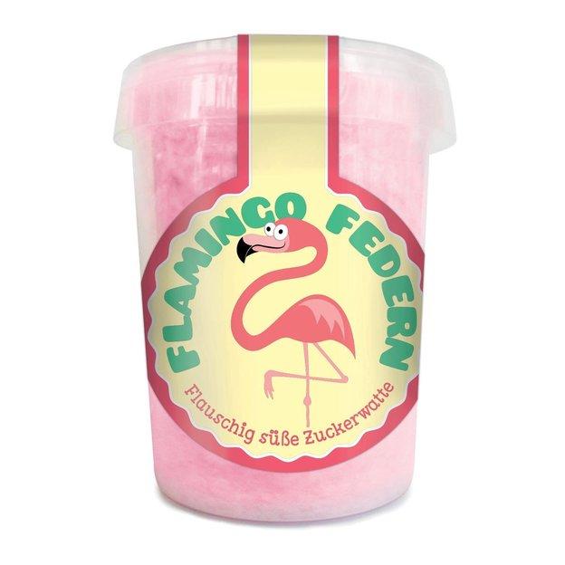 Flamingo Federn - Zuckerwatte