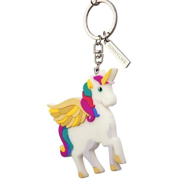 Porte-clés Licorne Sunnylife