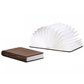 Mini Book Lamp - innovative und puristische Design Dekolampe, 12 x 8.8cm