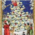 Calendrier de l'Avent sapin de Noël A3