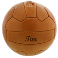 Ballon de foot en cuir personnalisé