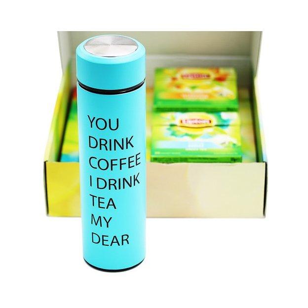 Personalisierbares Lipton Geschenkset Tea to Go