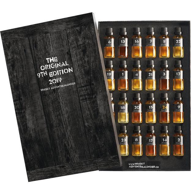Calendrier de l'Avent Whisky - Premium Tasting Box 2019