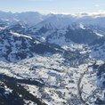 Voyage en montgolfière dans les Alpes en hiver (1 pers.)