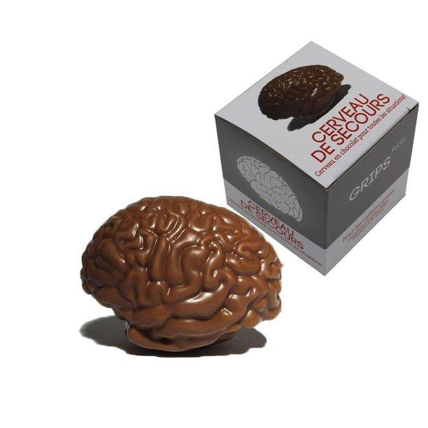 Cerveau de secours en chocolat