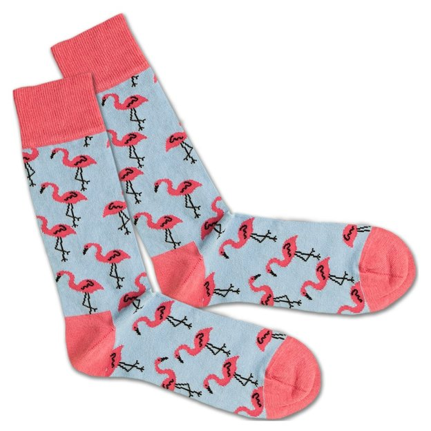 Chaussettes DillySocks Flamant rose 36-40