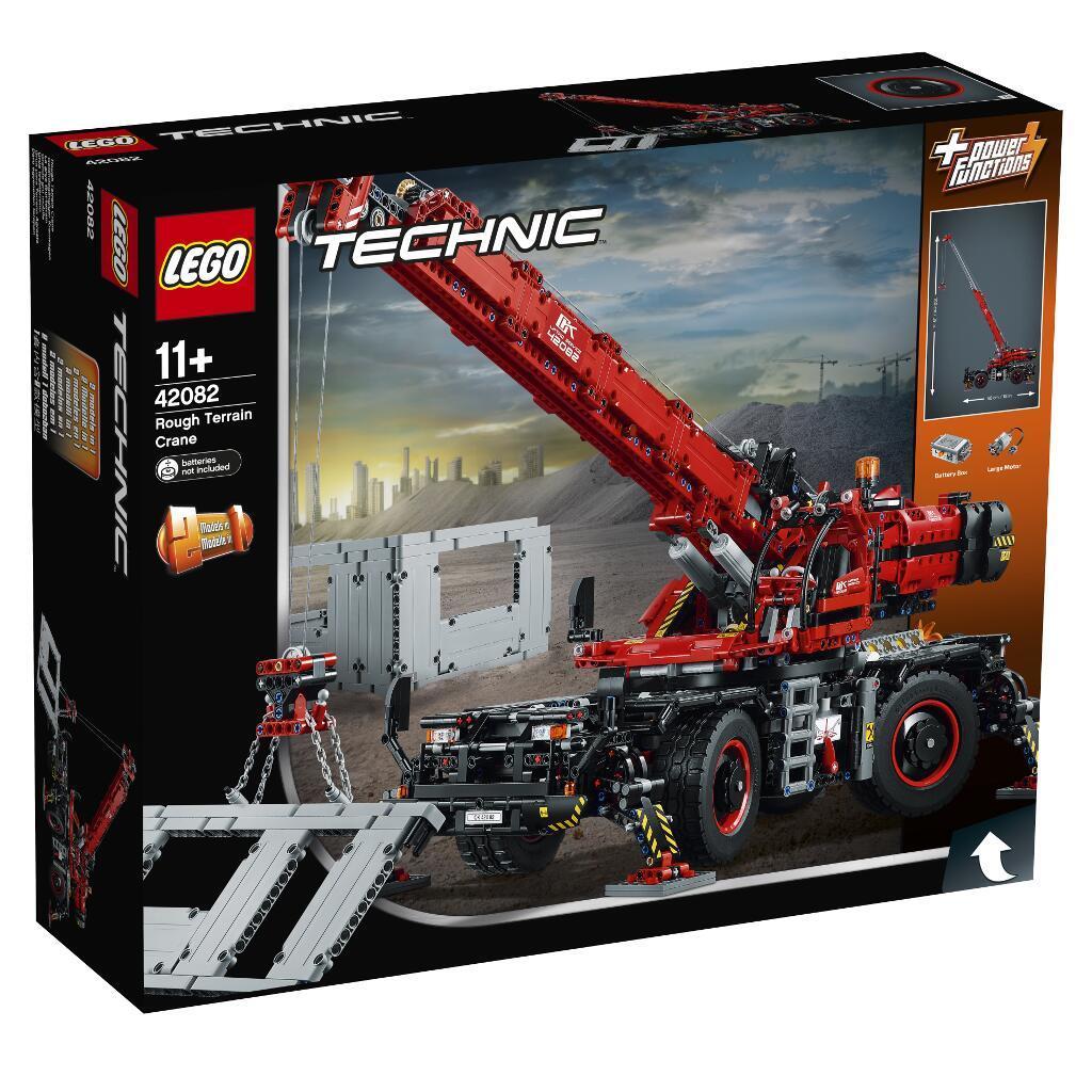 Lego technic manuel d/'instruction et Feuille Autocollant pour 42082 Rough Terrain Crane