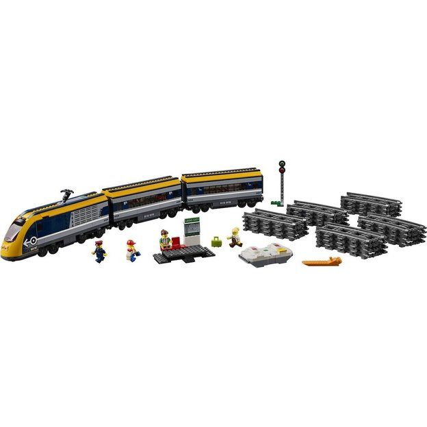 LEGO City Le train de passagers télécommandé