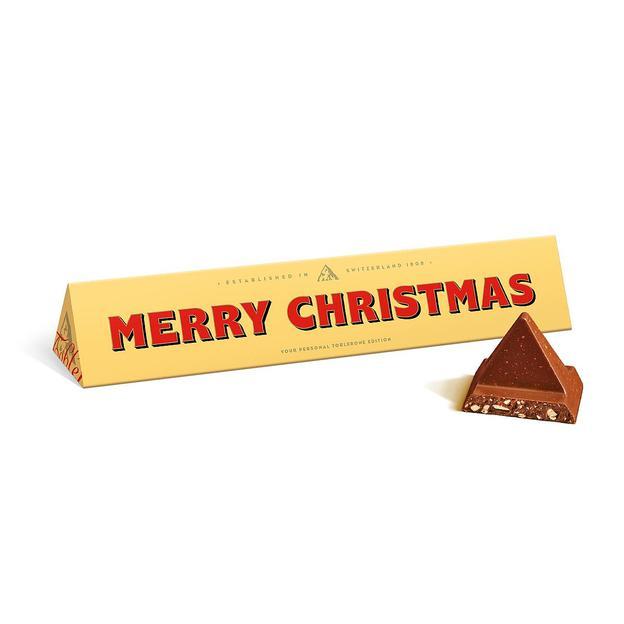 "TOBLERONE ""Merry Christmas"" (360g)"
