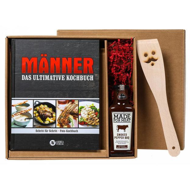 Personalisierbare Geschenkbox das ultimative Männer Kochbuch