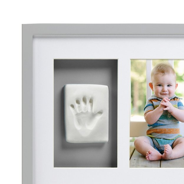 Wand-Fotorahmen mit Abdruckmaterial