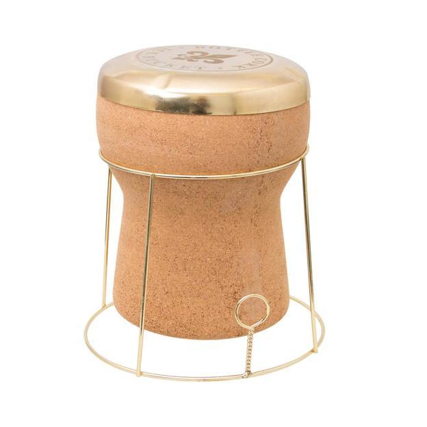 Design Sektkühler aus Kork