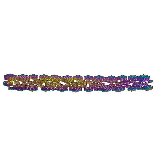 Marque-page métallique Rainbow