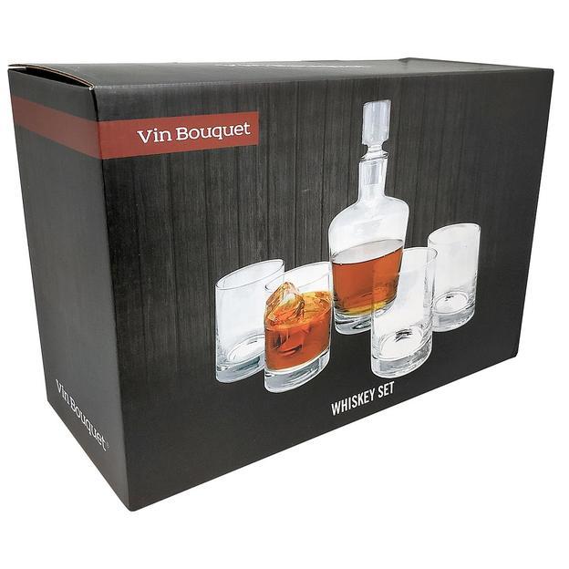 Verres et carafe à whisky Vin Bouquet
