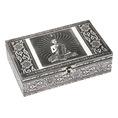 Coffret à bijoux Bouddha argent
