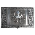 Coffret à bijoux Octopus argent