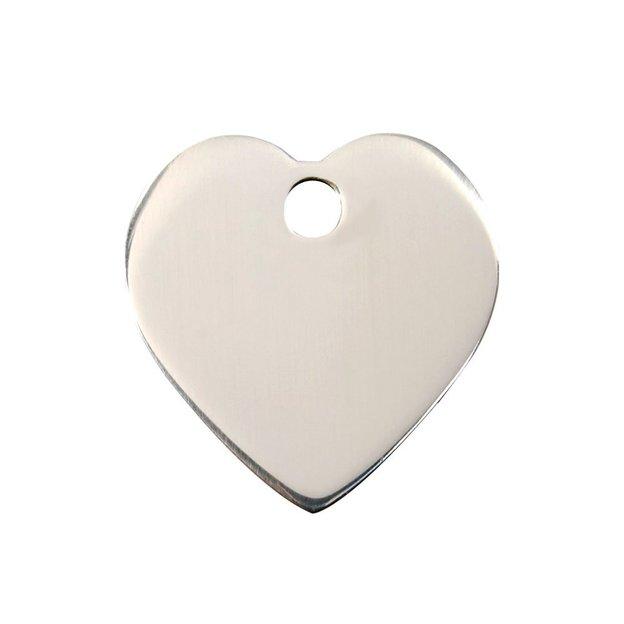 Médaille personnalisée pour chien et chat, cœur
