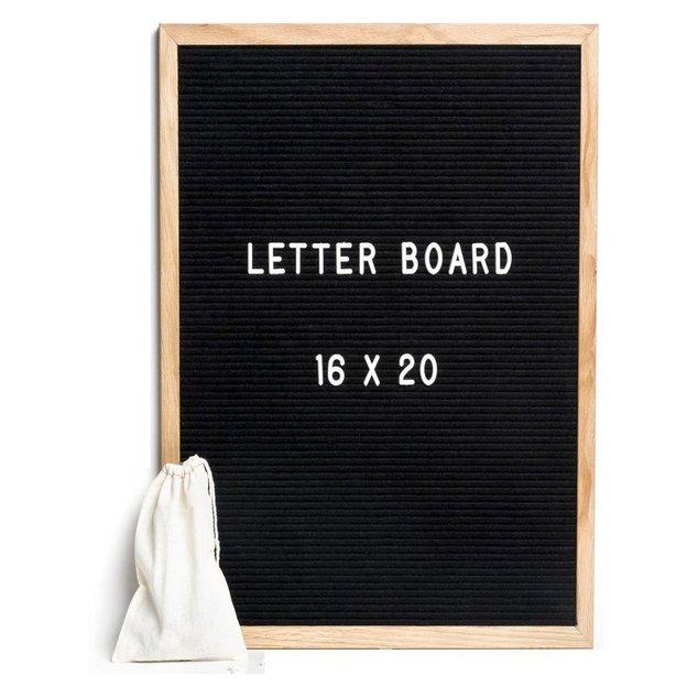 Tableau à lettres Letterboard – noir