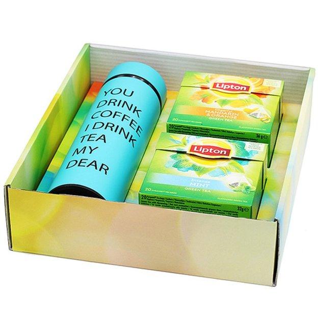 Coffret cadeau personnalisé Lipton Tea to go 930214fdd45