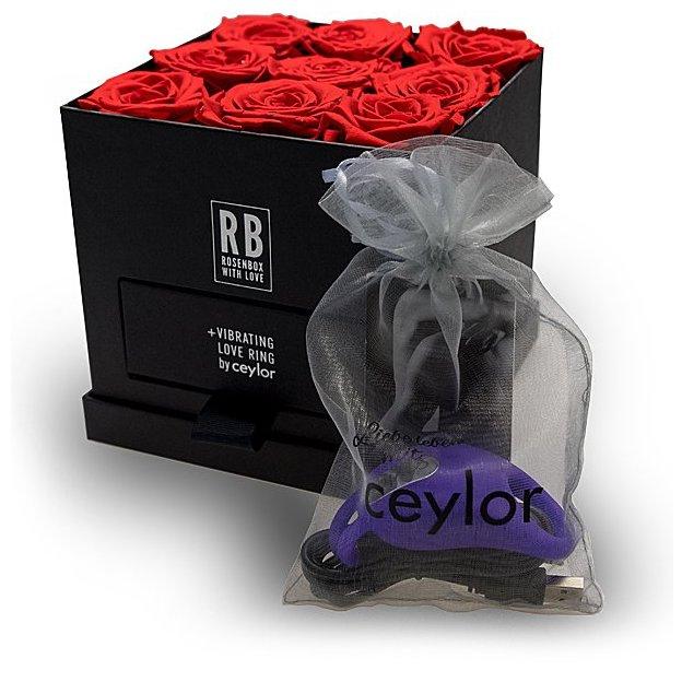 """Coffret """"Saint-Valentin"""" Roses et vibro Ceylor par Rafael Beutl"""