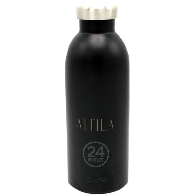 Personalisierbare 24Bottles Trinkflasche Clima 500ml Tuxedo Black