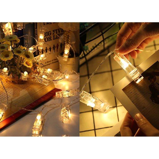 Guirlande lumineuse pour photos