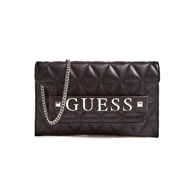 Guess Umhänge-Clutch Laiken black