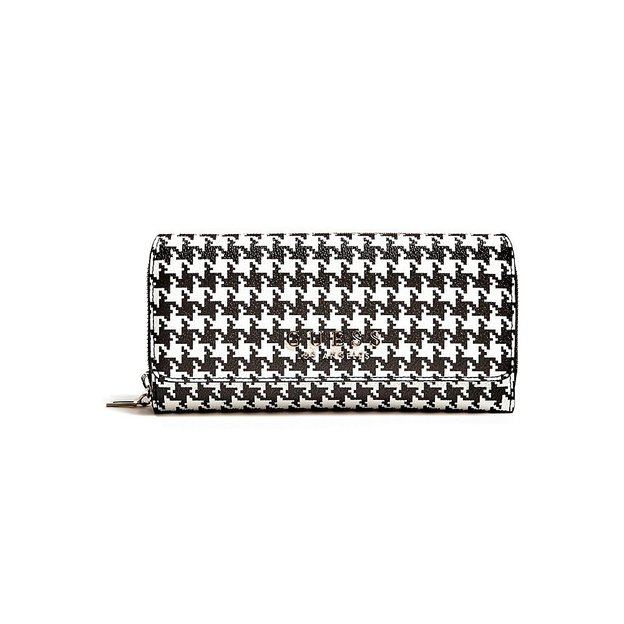 Porte-monnaie Guess Clutch Robyn houndstooth
