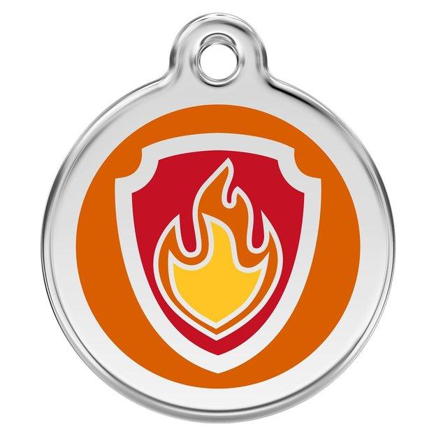 Médaille personnalisée pour chien et chat Marshall Pat Patrouille, 20 mm