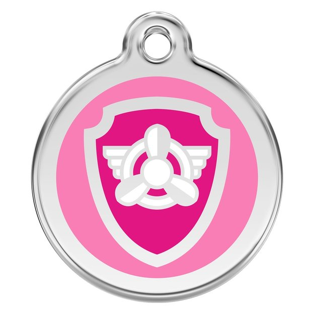 Médaille personnalisée pour chien et chat Skye Pat Patrouille, 20 mm