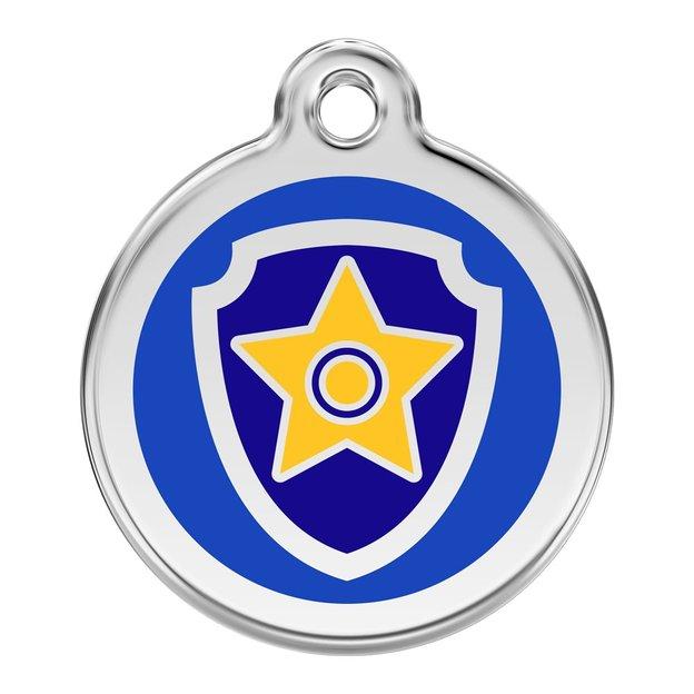 Médaille personnalisée pour chien et chat Chase Pat Patrouille, 30 mm