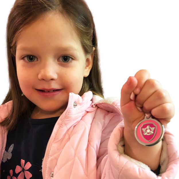 Médaille personnalisée pour chien et chat Chase Pat Patrouille