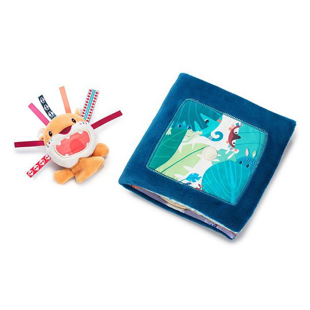 Livre pour enfant «Jack rugit» avec marionnette à doigt