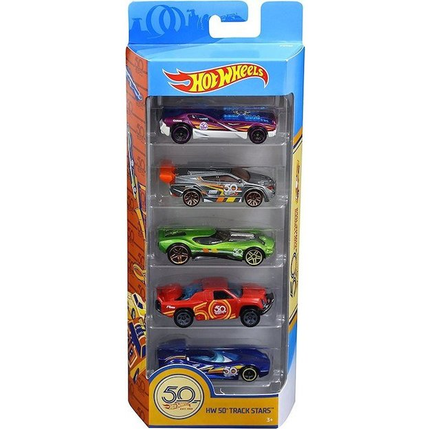 Hot Wheels 50th Anniversary 5er Geschenkset