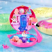Coffret Flamant rose de Polly Pocket