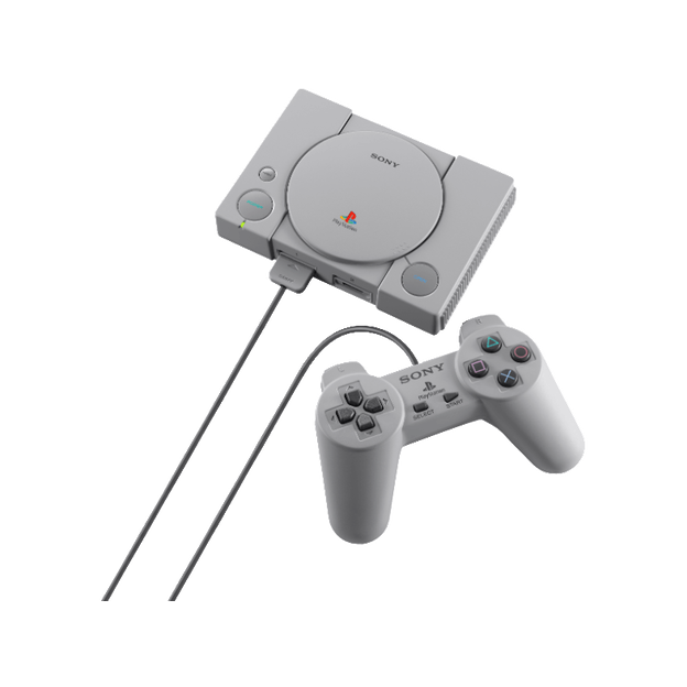 Sony Playstation Classic avec 20 jeux et 2 manettes
