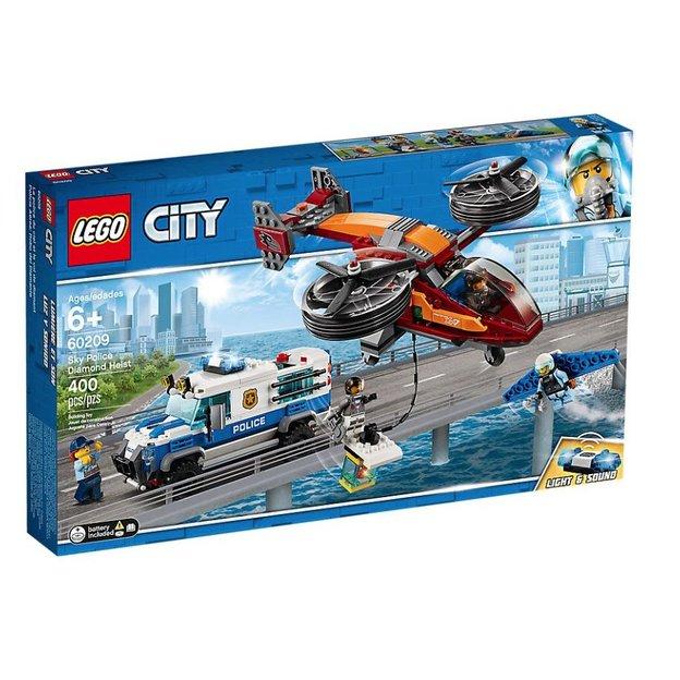 LEGO City Polizei Diamantenraub 60209