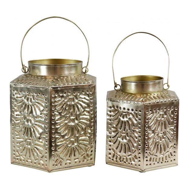 Lanternes Orient, 2 pièces