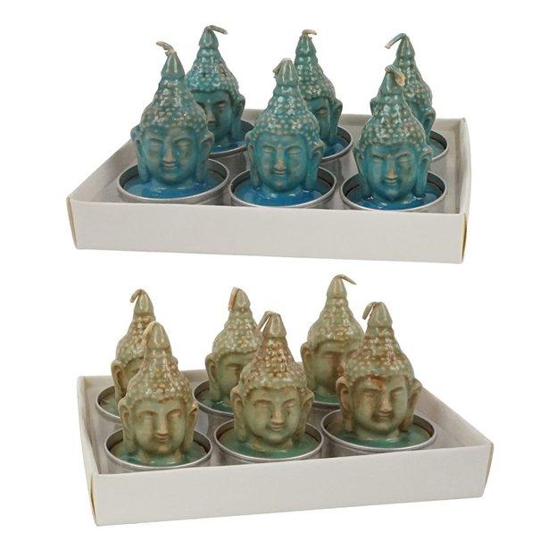 Bougie Bouddha, 12 pièces