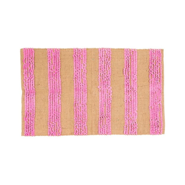 Tapis Striped de Rice