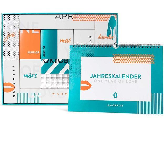 Amorelie Jahreskalender - Paar-Kalender mit 26 handverlesenen Überraschungen