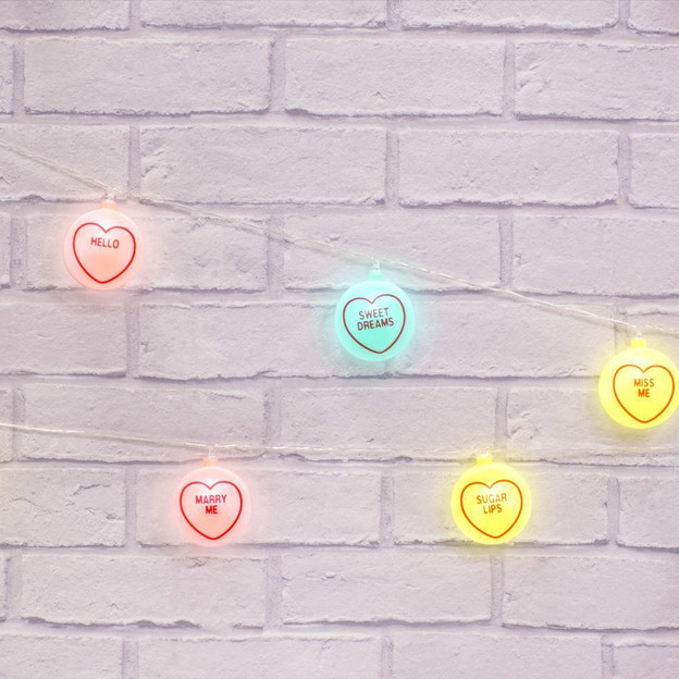 Guirlande lumineuse Love Hearts